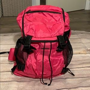 Esprit pink nylon backpack